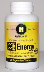 PR621 Energy - 30 db (Highland multivitamin)