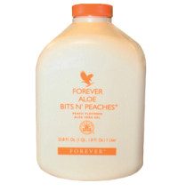 Aloe Bits n' Peaches - Forever Living Products, (FLP)